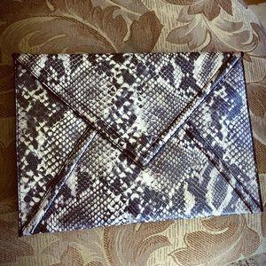 H&M Snakeskin Clutch